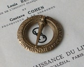 Medieval Annular Brooch - Crusades Age Brooch - Small - Craft Supply - Historical Reenactment Supplies
