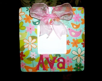 Personalized Decoupage Frame