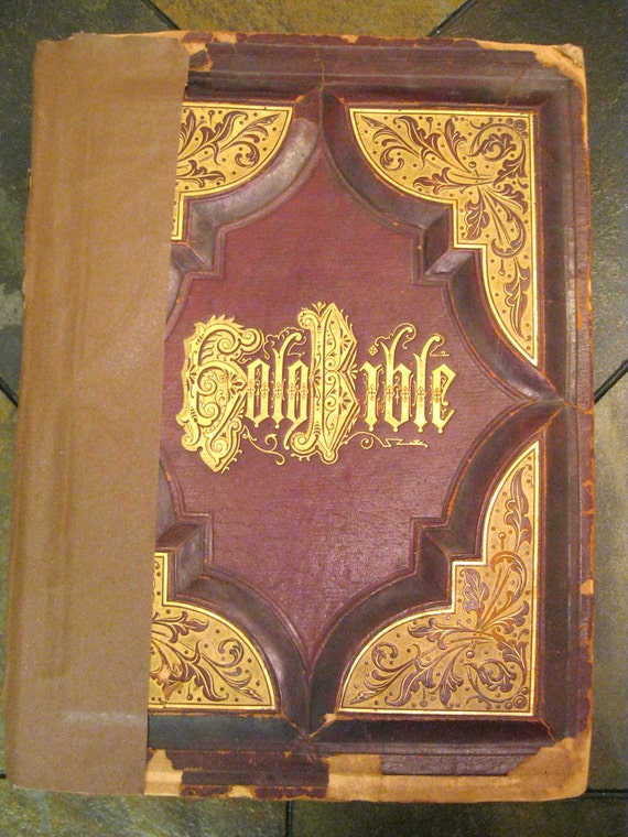 The Holy Bible - 1898