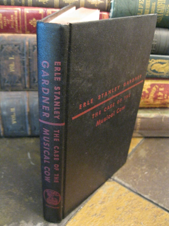 The Case Of The Musical Cow - First Edition - 1950