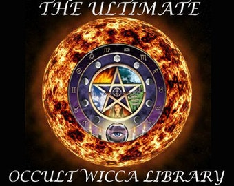 The Ultimate Occult Wicca Library 81 Rare Occult Wicca and Magick ebooks