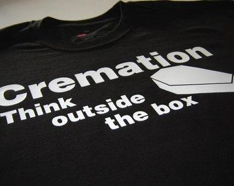 Dark Humor Funny Shirt for Men - Morbid Tshirts- Think Outside The Box