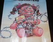1985 vintage Garbage Pail Kids poster - Keep Out