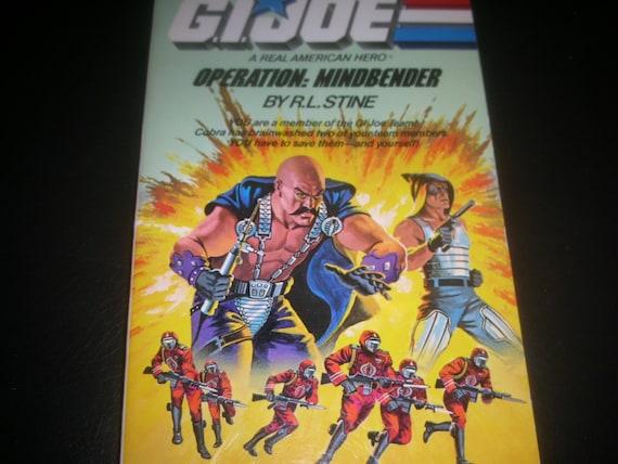 1986 GI Joe operation mindbender book by RL Stine