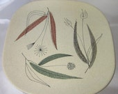 Vintage Franciscan Ceramic Trio Plate Pattern from the 1950's