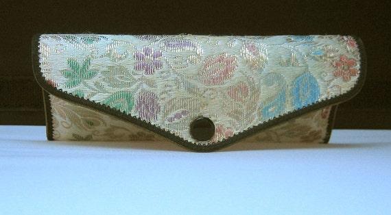Vintage Tapestry Brocade Eyeglass Case