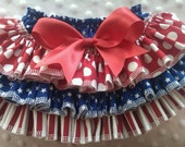 4th of July Ruffled Bloomer