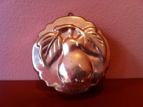 Vintage Pear Copper Wall Hanging/Mold