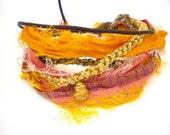 Sari Silk, Golden Bracelet Yellows