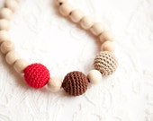 Teething Necklace - Nursing necklace - different colors