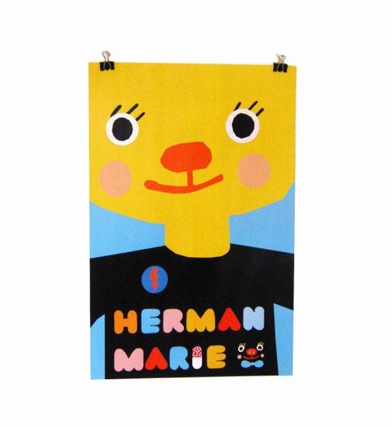 Herman Marie Poster