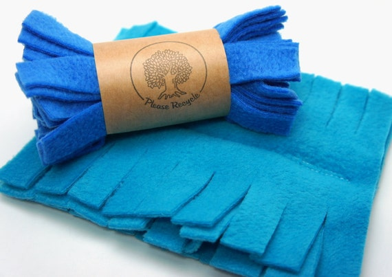 Fleece Duster - 2 Pack Blue, Reusable Swiffer Duster Cover, Old Handle