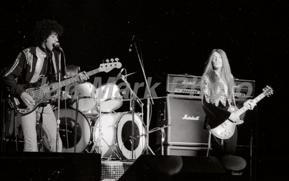 Thin Lizzy 8X12 1977 Photo                                                           Image registered at the United States Copyright Office