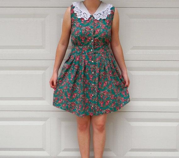 Caribbean Pilgrim Sleeveless Dress