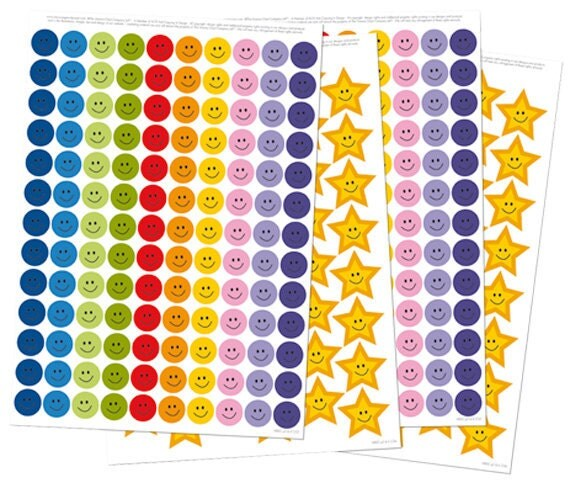 356 Reward Stickers (suitable for My Big Star Chart, Potty Chart and Sleep Chart)