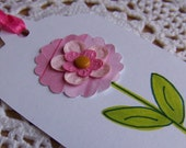 Spring Flower Gift Tag  - Set of 8