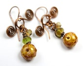 Fairy Bundle Earrings With Copper Swirls