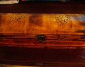 Wooden Pine Stained Box