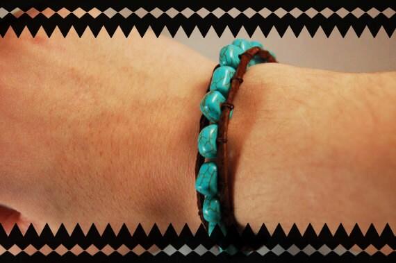 Turquoise Wrap Bracelet