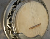 Dragon Handmade 5-String Banjo OOAK Aluminum Inlay Antique 1930 France Bluegrass Custom