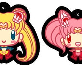 Set of 2 Sailor Moon&Chibi Moon Charms - PREORDER
