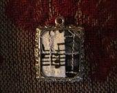 Miniature Quilt Pendant