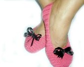 Free shipping Pink Healthy Booties Home slippers Dance classic yoga sexy hygienic light Naturel Silk cashmire crochet