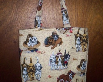 DOG TOTE PURSE Price Reduced for Christmas
