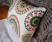 SALE: Mexican tile motif 12x16 pillow