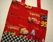 Crayon Bag in Disney Cars Print