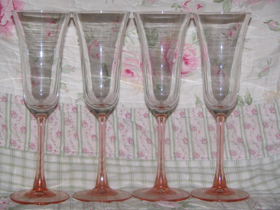 Champagne Glasses Fluted
