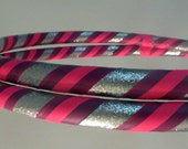 CusTom 3 Color HULA HOOP -with Grip and Glitter-ThOusAnds of Color ComBninaTions
