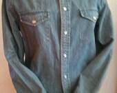 80's denim weatern shirt