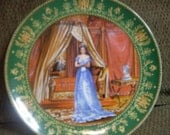 "Limoges Napoleon and Josephine Series Collector Plate ""Le Souvenir"""