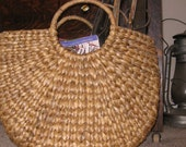 Price Reduced  Rattan Boho Bag