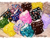 AIO Cloth Diapers (One Size)