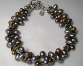 Pearls in Smokey Gray and Taupe