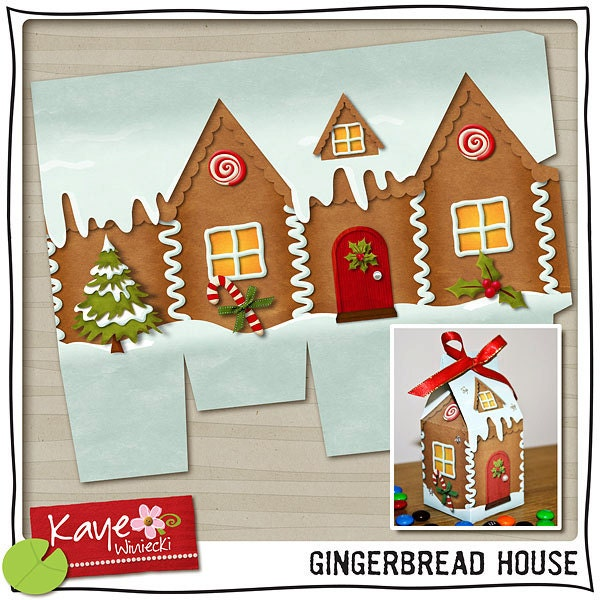 Tactueux image throughout printable gingerbread houses