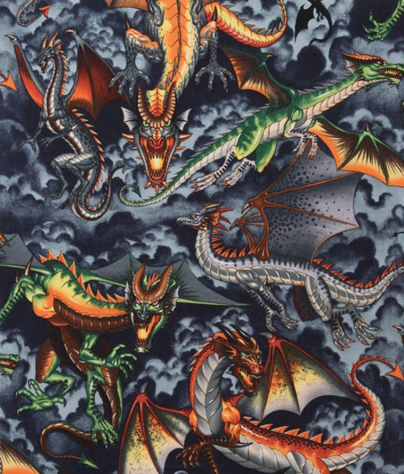 how to train your dragon fabric by the yard