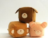 Cube Pincushion - Stuffed and soft toys MADE TO ORDER
