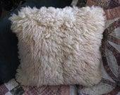 "16"" x 16""  Lambs Wool Pillow"