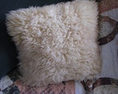 "12"" x 12"" Lambs Wool Pillow"