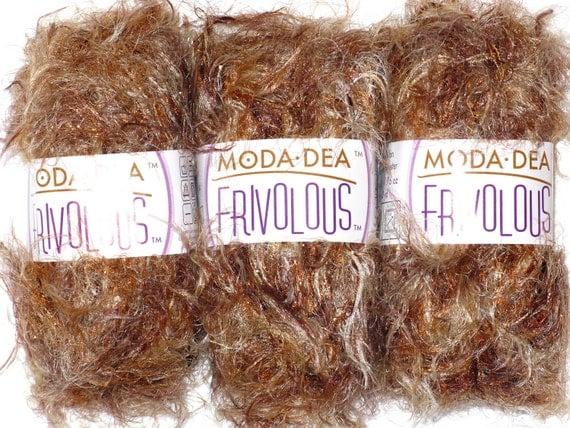 Frivolous Bronze Goddess yarn by Moda Dea