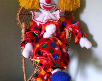 Charlie Chuckles Toy Clown
