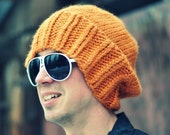 the apricot super slouchy hat- Urban Revival