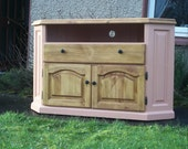 Large cupboard and drawer Re-conditioned TV Cabinet