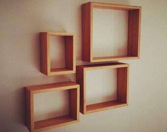 Nesting cedar shelves (Set of 4)