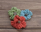 Crochet Flowers- Spring Bouquet
