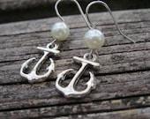 Anchor Earrings --Nautical Inspired