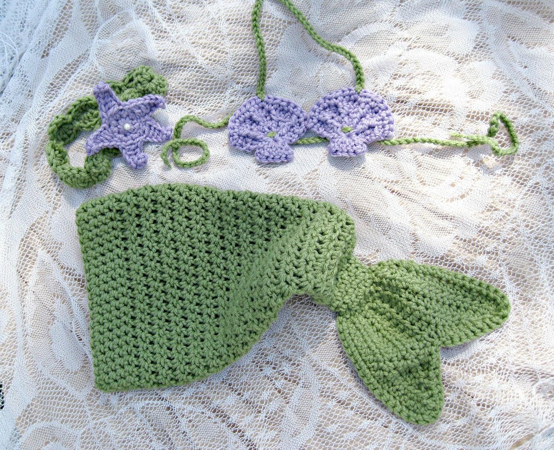 Free Crochet Pattern Newborn Mermaid : Mermaid Costume Pattern Free - Viewing Gallery
